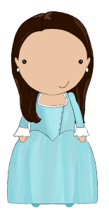 Eliza Schuyler Hamilton, drawn by Jen Talley